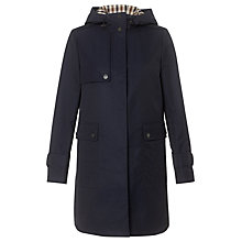 Buy Aquascutum Hooded Jacket, Blue Online at johnlewis.com