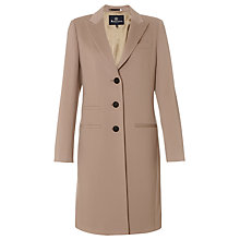 Buy Aquascutum Strerling Pure Wool Mountain Coat, Natural Online at johnlewis.com