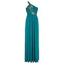 Buy Coast Sissie Jersey Maxi Dress, Kingfisher Online at johnlewis.com