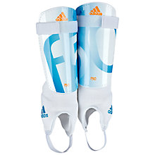 Buy Adidas f50 Replique Shin Pads, Blue/White Online at johnlewis.com
