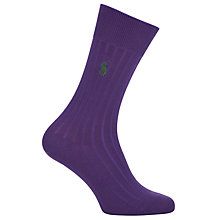 Buy Polo Ralph Lauren Egyptian Cotton Blend Socks Online at johnlewis.com