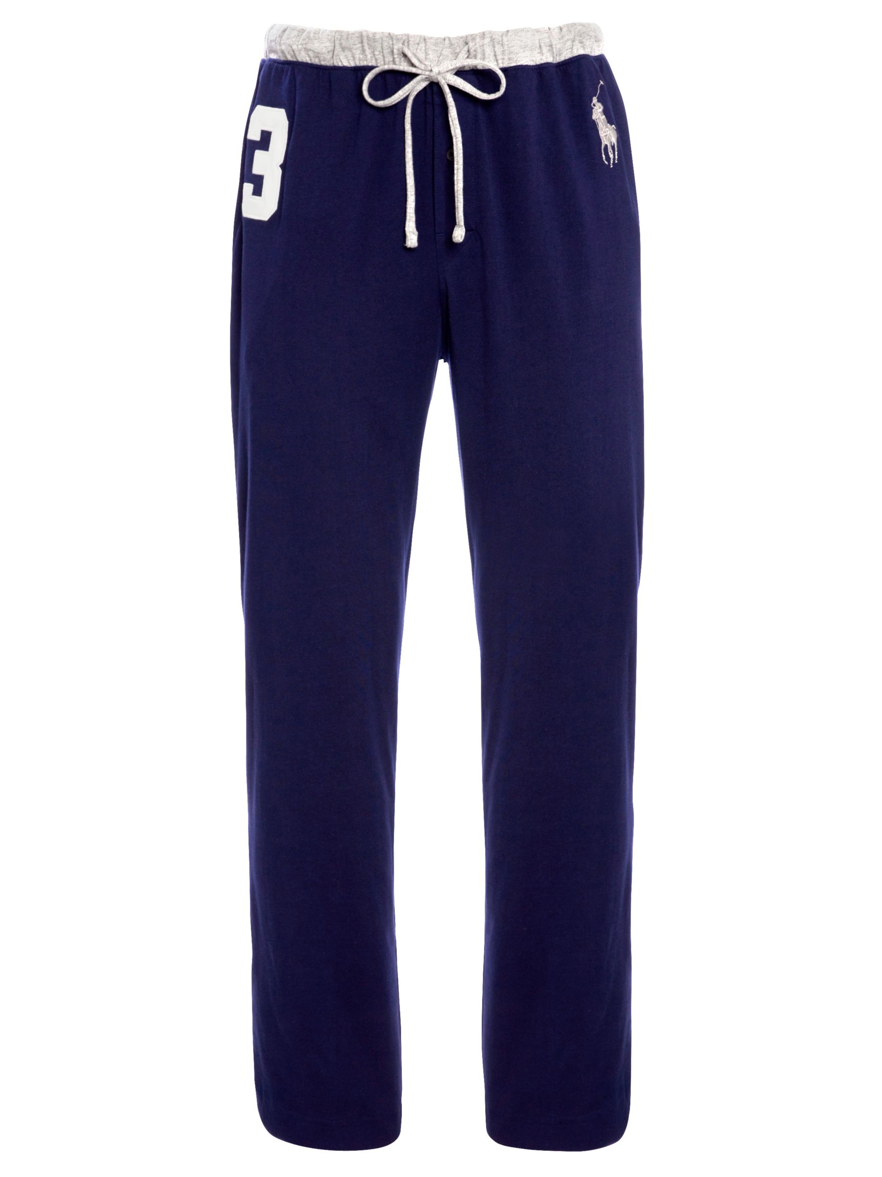 Polo Ralph Lauren No.3 Jersey Lounge Pants, Navy