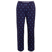 Buy Polo Ralph Lauren Pony Lounge Pants, Navy Online at johnlewis.com