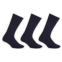 Buy John Lewis Wool Rich Socks, Pack of 3 Online at johnlewis.com