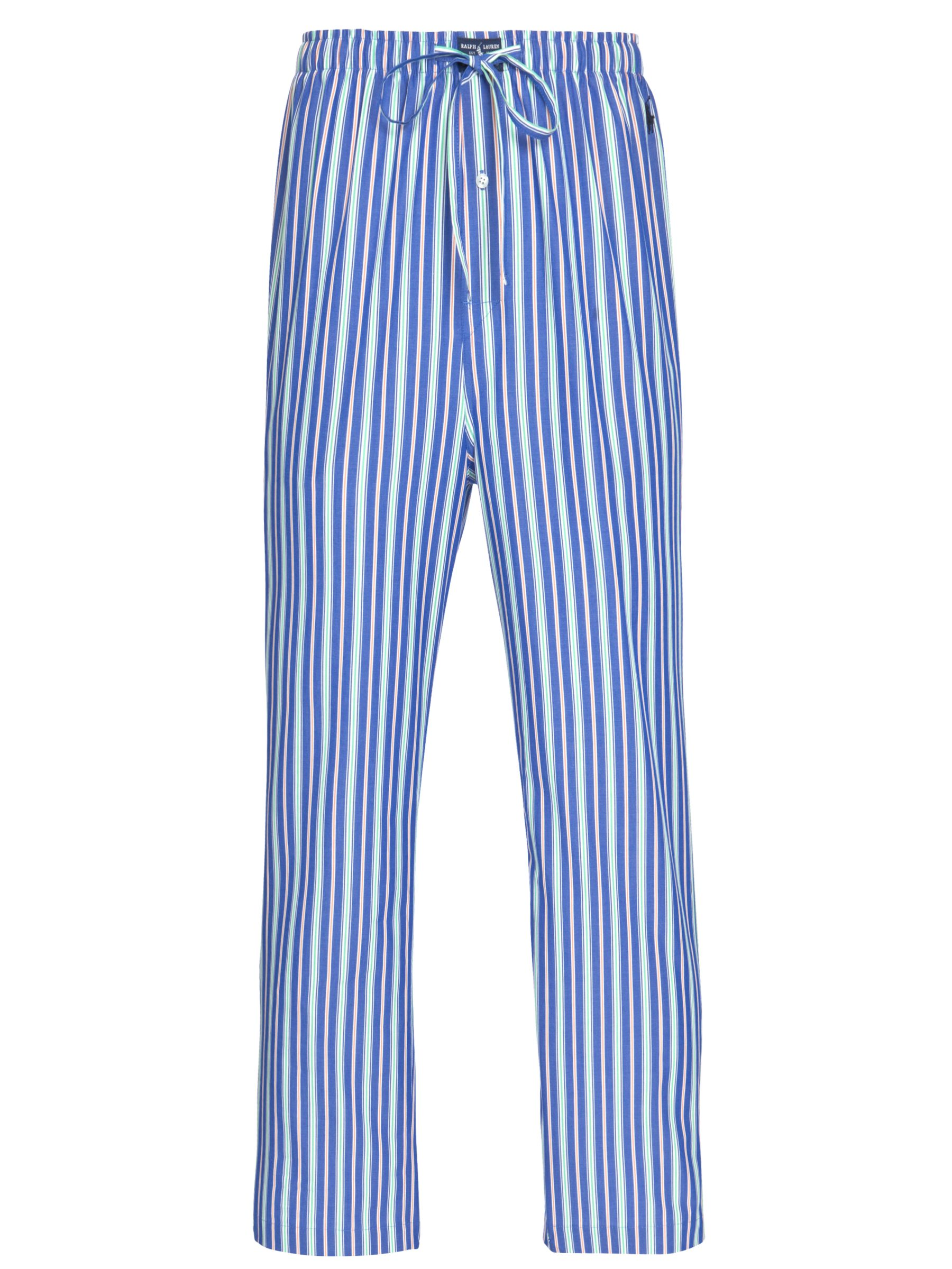 Polo Ralph Lauren Stripe Lounge Pants, Blue/Multi