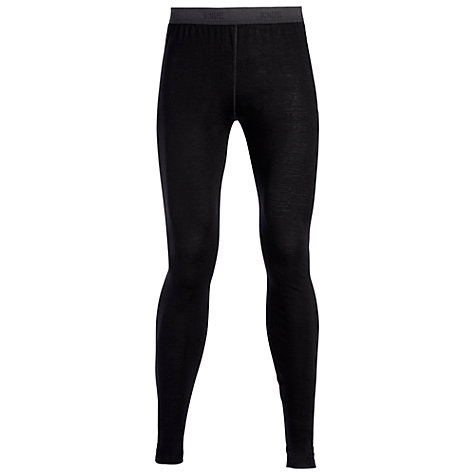Buy Sunspel Merino Wool Long Johns, Black Online at johnlewis.com