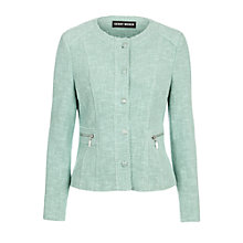 Buy Gerry Weber Boucle Jacket, Mint Online at johnlewis.com