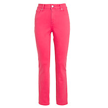 Buy NYDJ Ankle Skinny Jeans, Beetroot Online at johnlewis.com