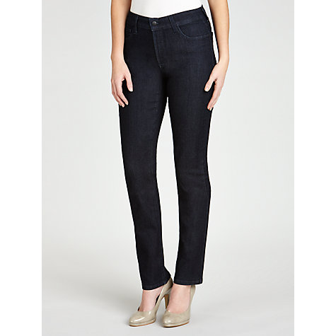 Buy NYDJ Embellished Skinny Jeans, Dark Denim Online at johnlewis.com