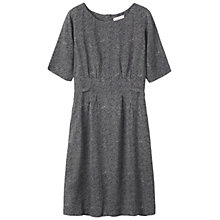 Buy Toast Japanese Floral Dress, Grey Blue/Antique White Online at johnlewis.com