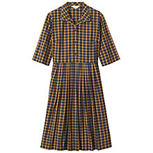 Buy Toast Check Shirt Dress, Toffee Online at johnlewis.com