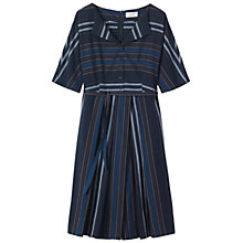 Buy Toast Chambray Stripe Dress, Denim Online at johnlewis.com