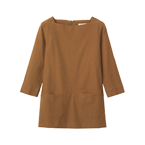 Buy Toast Bedford Cord Tunic Top Online at johnlewis.com