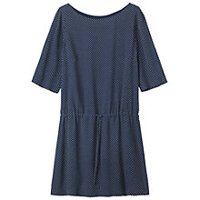 Buy Toast Dash Print Dress, Navy Online at johnlewis.com