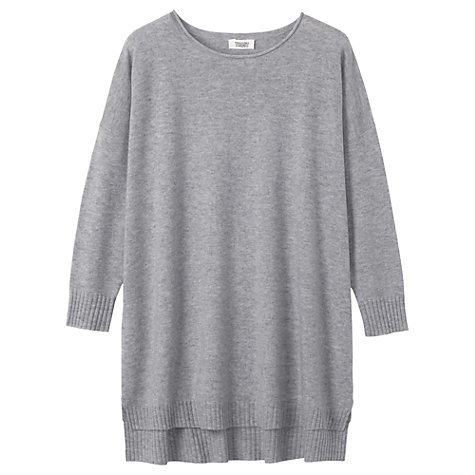 Buy Toast Cashmere-blend Jumper, Grey Marl Online at johnlewis.com