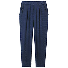 Buy Toast Dash Print Trousers, Navy Online at johnlewis.com