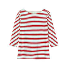 Buy Toast Striped T-shirt, Red Online at johnlewis.com