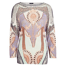 Buy Gerry Weber Art Deco Knitted Jumper, Multi Online at johnlewis.com