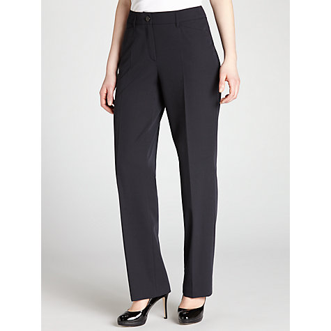 Buy Gerry Weber Pamela Trouser, Navy Online at johnlewis.com