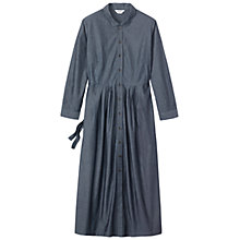 Buy Toast Maxi Shirt Dress, Indigo Online at johnlewis.com