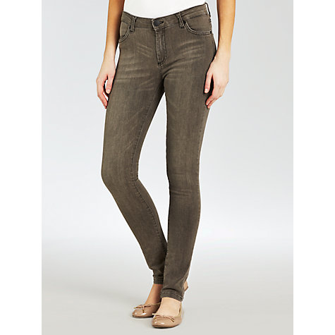 "Buy Five Units Penelope Skinny Jeans 34"", Grey Sunbleach Online at johnlewis.com"