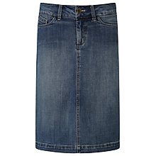 Buy NYDJ Denim Skirt, Mid Denim Online at johnlewis.com