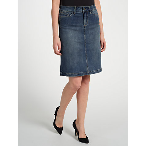 Buy Not Your Daughter's Jeans Denim Skirt, Mid Denim Online at johnlewis.com