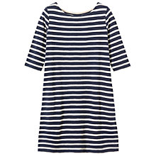 Buy Toast Slub Stripe Tunic, Navy Stripe Online at johnlewis.com
