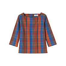Buy Toast Madras Check Shirt, Multi Online at johnlewis.com