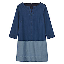 Buy Toast  Chambray Tunic Dress, Denim Online at johnlewis.com