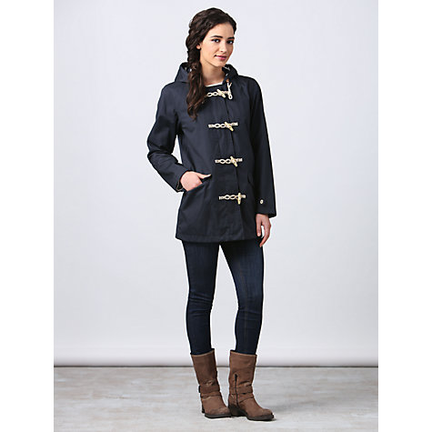 Buy Seasalt Seafolly Long Waterproof Jacket, Navy Online at johnlewis.com
