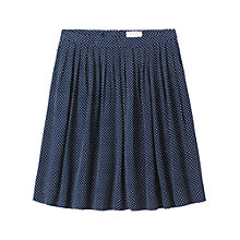 Buy Toast Dash Print Skirt, Navy Online at johnlewis.com