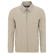 Buy Aquascutum Club Check Lined Harrington Jacket Online at johnlewis.com