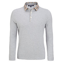 Buy Aquascutum Club Check Jersey Top Online at johnlewis.com