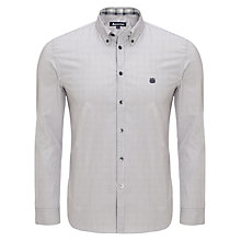 Buy Aquascutum Fine Stripe Shirt, Grey Online at johnlewis.com