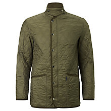 Buy Aquascutum Pool Quilted Jacket, Green Online at johnlewis.com