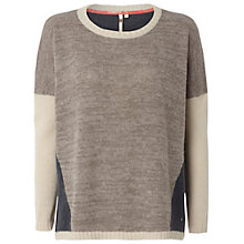 Buy White Stuff Bertha Jumper, Dark Limestone Online at johnlewis.com