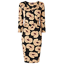 Buy Phase Eight Poppy Dress, Black/Stone Online at johnlewis.com