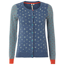 Buy White Stuff Dorothy Cardi, Atlantic Blue Online at johnlewis.com