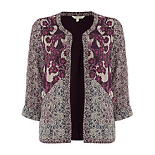 Buy White Stuff Rita Print Jacket, Multi Online at johnlewis.com