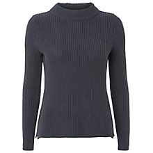 Buy White Stuff Mallow Jumper, Dark Atlantic Blue Online at johnlewis.com