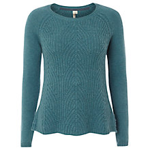 Buy White Stuff Racing Jumper, Dark Samphire Green Online at johnlewis.com