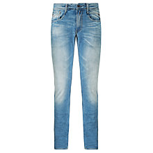 Buy Replay Anbass Tapered Slim Leg Jeans Online at johnlewis.com