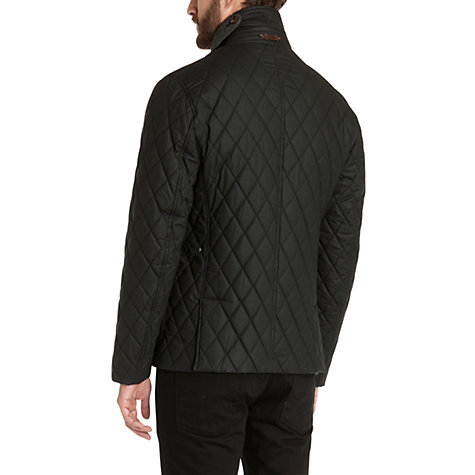 Buy Ted Baker Kemond Diamond Quilted Jacket, Black Online at johnlewis.com
