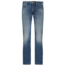 Buy Replay Waitom Slim Fit Tapered Jeans, Mid Wash Online at johnlewis.com