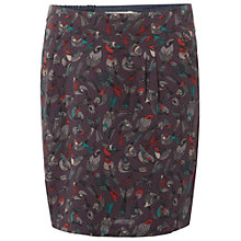 Buy White Stuff Lochcarron Skirt, Dark Feather Grey Online at johnlewis.com