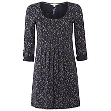Buy White Stuff Beyond the Horizon Tunic, Dark Atlantic Blue Online at johnlewis.com