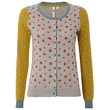Buy White Stuff Dorothy Cardi, Limestone Online at johnlewis.com