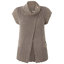 Buy White Stuff Town & Country Cardi, Dark Limestone Online at johnlewis.com