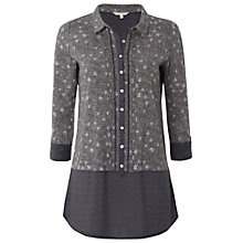Buy White Stuff Islands Shirt, Dark Atlantic Blue Online at johnlewis.com
